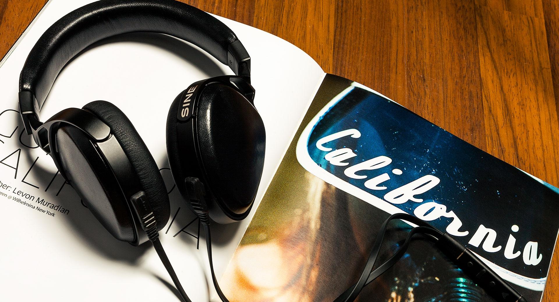 Sine on-ear headphones
